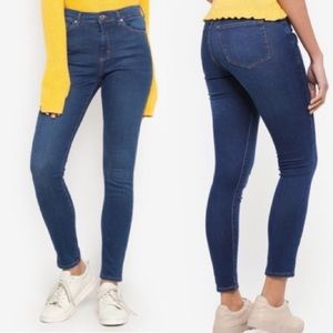 Topshop Moto Leigh skinny high waisted jeans